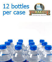 1 Liter Purified Water Bottles Orange