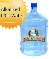 5 Gallon Alkalized Bottled Water Orange