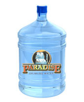 5 Gallon Bottled Purified Water Orange